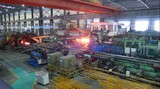 Cardan drive shafts used in Tube rolling mill