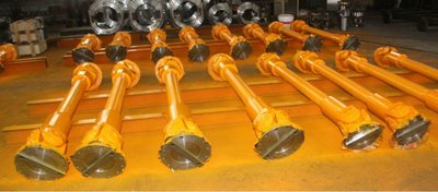 Heavy duty universal drive shaft